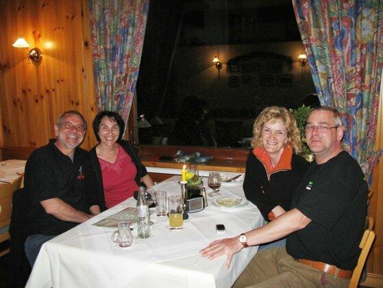 Claudia+Ralf besuchen Heide+Christoph im Ohrntal (Odenwald)