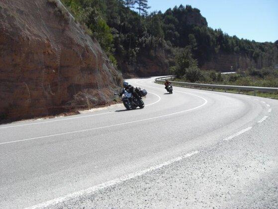 Traumhafte Straßen Nordspanien
