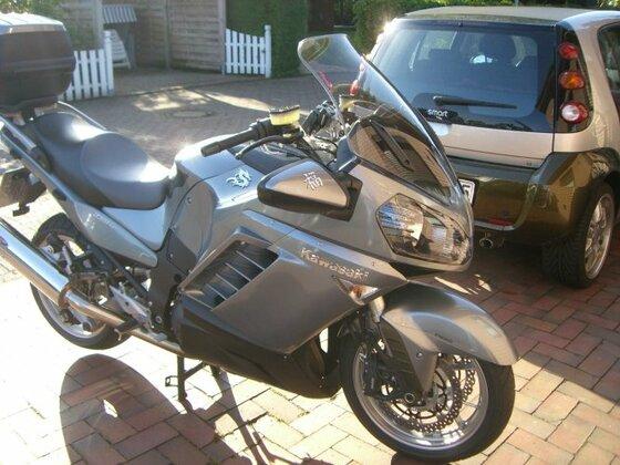 Meine neue GTR 1400 Silber