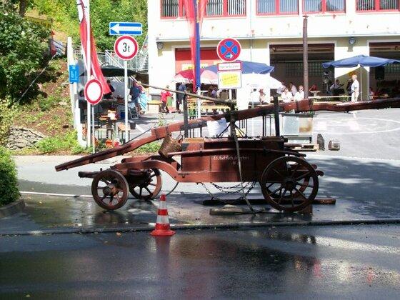 Stadtfest in Lobenstein mit neuster Feuerwehrtechnik