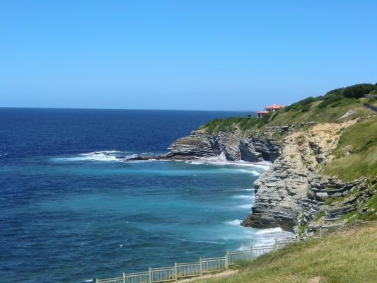 Französische Atlantikküste bei Saint Jean de Luz