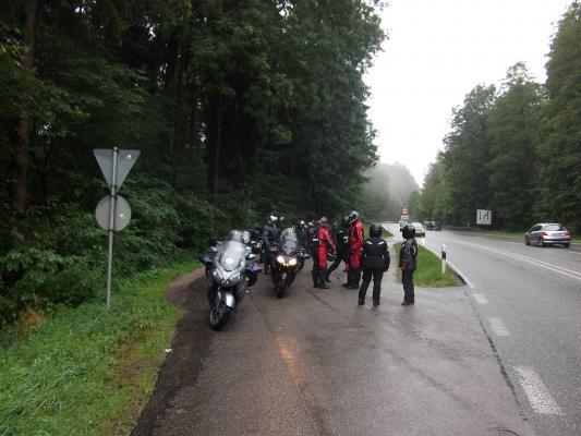 """Ausfahrt """" Im Regen """""""