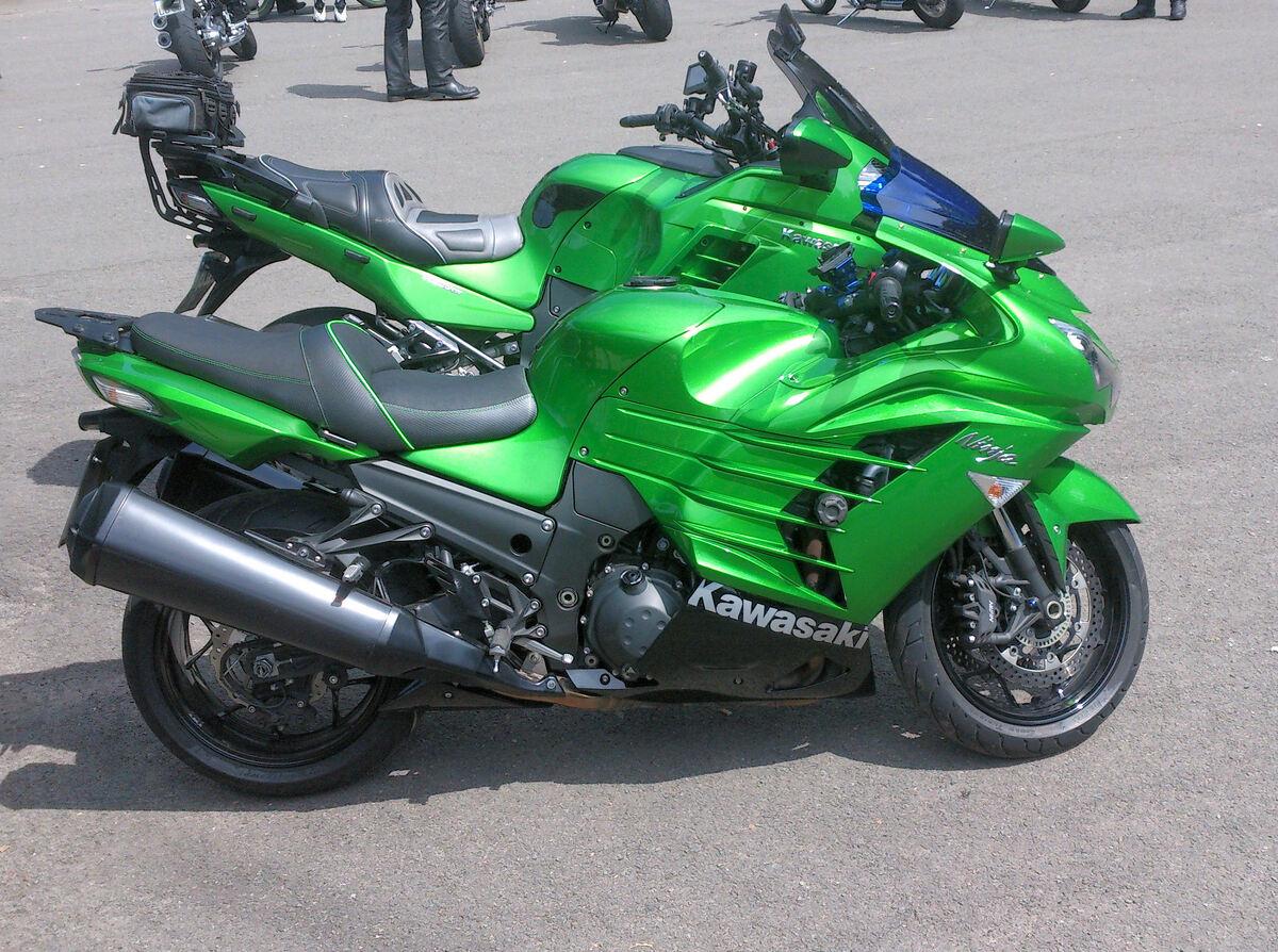 GTR 1400 + ZZR 1400