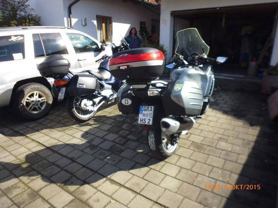 GTR1400 + BMW R1150RT