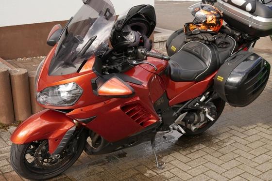 ...oder mal in orange/rot....