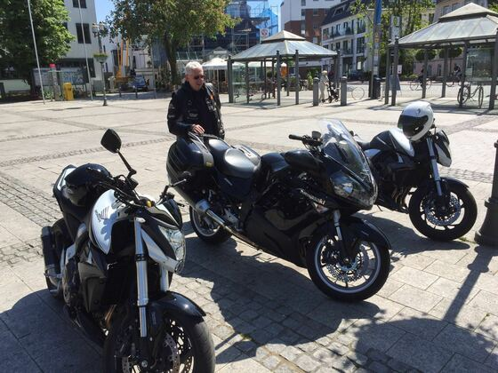 Daffis erste Tour mit seiner GTR