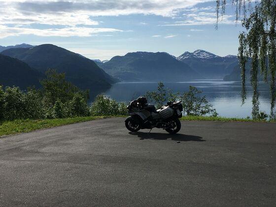 Schönen Gruß aus Norwegen.