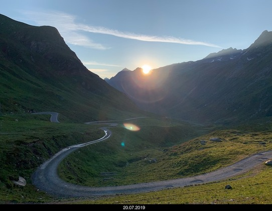 Sonneaufgang Silvretta