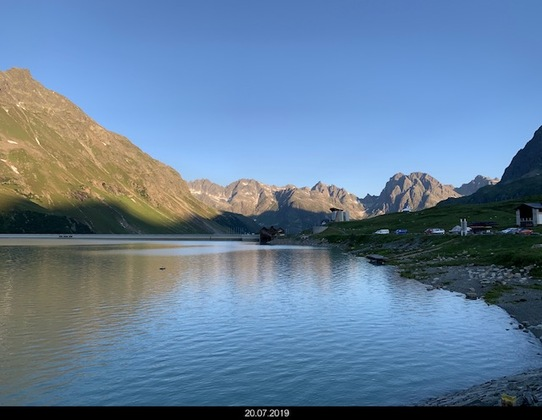 Sonnenaufgang Silvretta