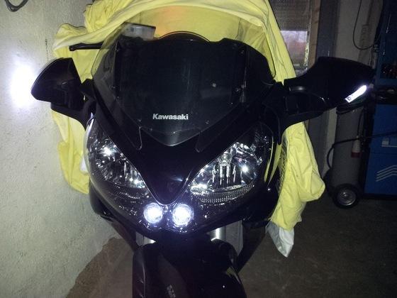 Test mit LED Standlichtern
