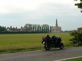 Kleines Dörfchen in der Nähe von Mantova