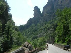 Silvio's und Frank's Seealpen Tour 2011 Fahrtaufnahmen